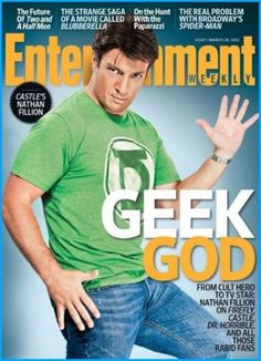 Nathan Fillion set to star in he next Percy Jackson movie as Hermes the Geek God ... Um Greek God.