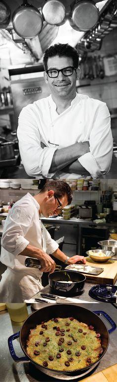 Michelin star chef, George Mendes of Aldea NYC shares a #Portuguese recipe for Salt Cod Casserole made in #Staub.