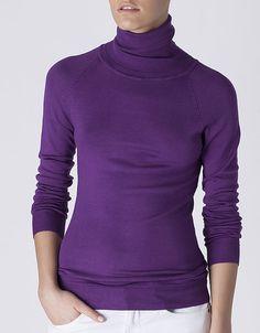 Jersey básico cuello vuelto | SHOP ONLINE SUITEBLANCO.COM