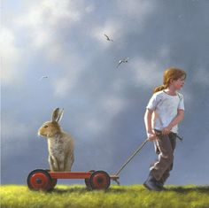Pulling a Fast One - by Jimmy Lawlor