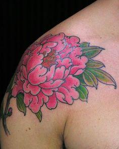 a420edc6d peony flower tattoo-for my sleeve | Pretty Tattoos | Pinterest Lotus Flower  Tattoo Design