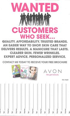 Wanted Avon 2017 S Ideas Party Online
