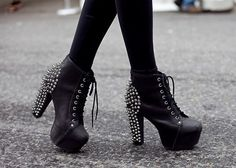Studded Litas, Jeffrey Campbell, saw them in Urban