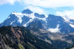 Mount Shuksan North Cascades National Park Washington USA [31102073] [OC] #reddit
