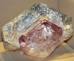 Morganite w/ Aquamarine Rind - Brazil by BlueLiquorice …