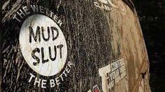 Mud truck sticker