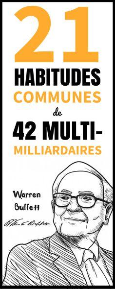 21 HABITUDES COMMUNES DE PERSONNES TRÈS RICHES