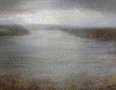 Morning Haze near Fowey  Amanda Hoskin  Mid Cornwall Galleries