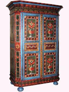 Amazing Austrian website for bauernmalerei furniture