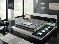 juego de dormitorio moderno minimalista