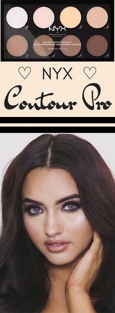 contour palette best contour makeup for . - contour palette best contour makeup for beginners best contouring product NYX – contour pa - Best Contour Makeup, Best Contouring Products, Contouring And Highlighting, Makeup Products, Simple Makeup For Teens, Natural Makeup For Teens, Makeup Palette, Anti Aging, Shopping