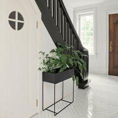 ferm Living - Plant Box #indoorplants #whiteandblackinterior #urbanjungle