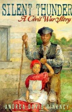 Cover image for Silent thunder : a Civil War story