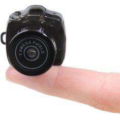 The World's Smallest (Digital) Camera- Bond ish