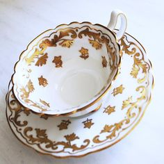 Royal Doulton for Birks / vintage teacup from the 1920s @ Tanglewood Teashop on Etsy