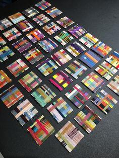 Weaving Textiles, Weaving Patterns, Tapestry Weaving, Bed Quilts, Quilt Bedding, Colour Chart, Textiles Techniques, Kids Class, Surface Pattern Design