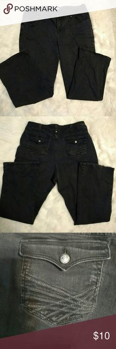 EUC LEE PERFECT FIT JEANS Nice Detail on Back Flap Pockets, No Size Tag Lee Jeans Straight Leg