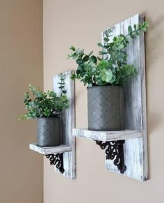 Farmhouse Wall Decor Plant Shelf Wall Sconce Wall Plant Holder Hanging Plant Holder Eucalyptus Decor Wall Vase Gift for Her Sconces Wall Plant Holder, Wall Candle Holders, Candle Wall Sconces, Plant Wall, Plant Holders, Plant Decor, Candle Wall Decor, Farmhouse Wall Sconces, Farmhouse Candles