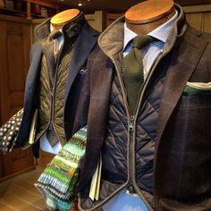 Sprezzatura-Eleganza | refinedcoast: Sport coats and gilets go hand in...