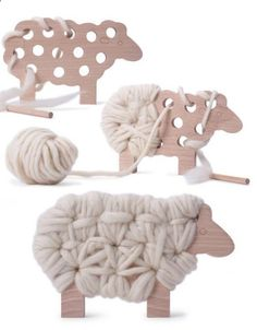 Teds Wood Working - #woodworkingplans #woodworking #woodworkingprojects Woody The Sheep Knitting Toy | The Junior - Get A Lifetime Of Project Ideas & Inspiration!