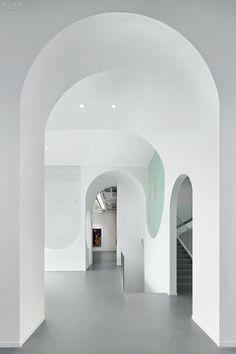 The Sweep of History: PeNDA Designs Hongkun Museum of Fine Arts | Projects | Interior Design