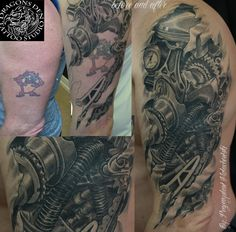 Bio mechanical / Steam Punk Cover Up