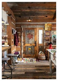 Rustic Home by pippinpost on Polyvore featuring polyvore interior interiors interior design home home decor interior decorating Runen rustic vintage etsy handmade crazy4etsy
