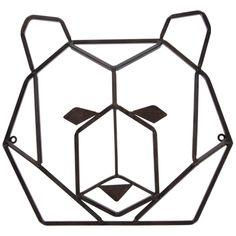 Geometric Bear, Geometric Wall, Tree Sculpture, Wall Sculptures, Wall Decor Online, Barn Wood Frames, Metal Wall Decor, Wall Art Quotes, Metal Walls
