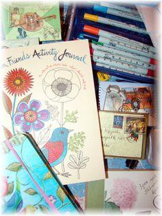 Art Inspiration Postcard by EviaCarpenter on Etsy, $1.00