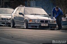 Alex McArthurs BMW E36 touring on OEM BMW BBS RC wheels (Styling 5)