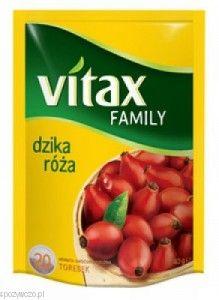 Herbata VITAX dz.róża 20tb opak.10   spozywczo.pl Pyszną herbatę owocową kupisz na: http://www.spozywczo.pl/hurtownia-kawy-herbaty