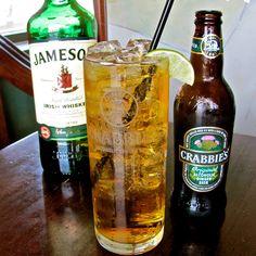 Crabbies Ginger Beer & Jameson, it's dangerously tasty