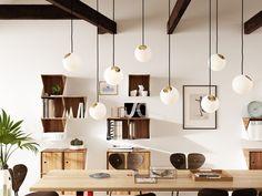 Wall-mounted modular wooden bookcase FLIP by Nordic Tales design Jonas Hoejgaard
