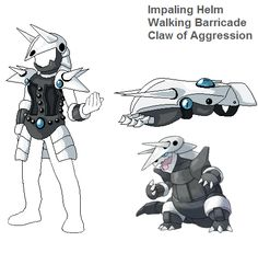 PSC Request- Aggron by Lybra1022 on DeviantArt