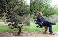 plant a chair :)
