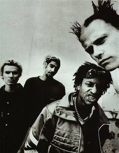 The Prodigy. Mixed Dance, Punk and Hardcore for a unique sound that is instantly recognizable. Music for the Jilted Generation onward and they were unstoppable. All their albums classics.