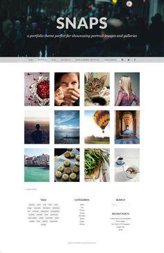 Snaps Theme ‹ Portrety — WordPress.com