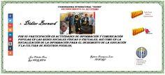TESORO. Didier Bernard. ACTIVISMO SOCIAL