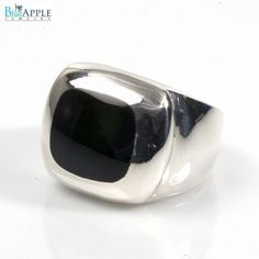 Fish Eye Ring Solid 925 Sterling Silver Round Synthetic Shiny Black Onyx Fish Eye Jewelry Fish Eye Ring Fashion Gift