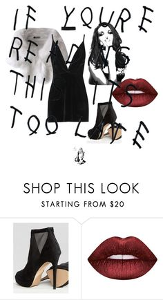 """Untitled #49"" by deedeelove16 on Polyvore featuring ALDO, Whiteley, Lime Crime and Boohoo"