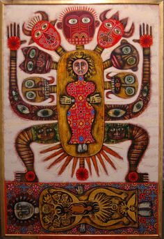 Rex Clawson Painting Outsider Art, Illustrations, Illustration Art, Augustin Lesage, Art Brut, Arte Popular, Naive Art, Visionary Art, Recycled Art