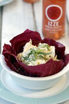 Attractive serving idea for potato salad