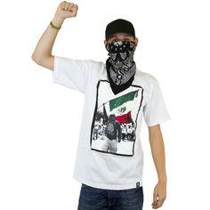 Joker Brand T-Shirt Mexiko Flag white ★★★★★
