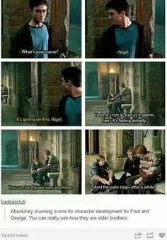I will always love Fred and George.