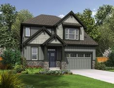 Northwest House Plan with Open Layout - 69584AM thumb - 01