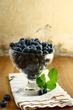 fresh blueberry...