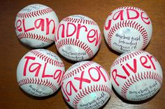 baseball birthday party- cute invite idea!