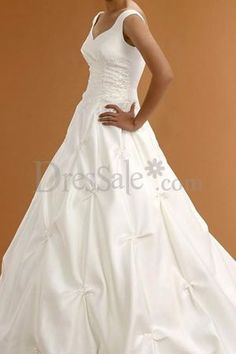 Traditional Full Satin Embroidered Formal Wedding Wear