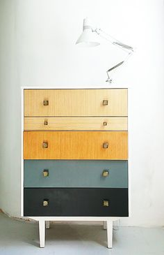 Chest of Drawers, Mid Century Drawers, Vintage Chest, Retro Chest of Drawers…