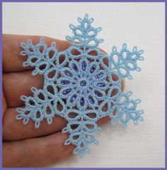 Tatting 78 - 3 Inch Snowflake by Murphy's Designs